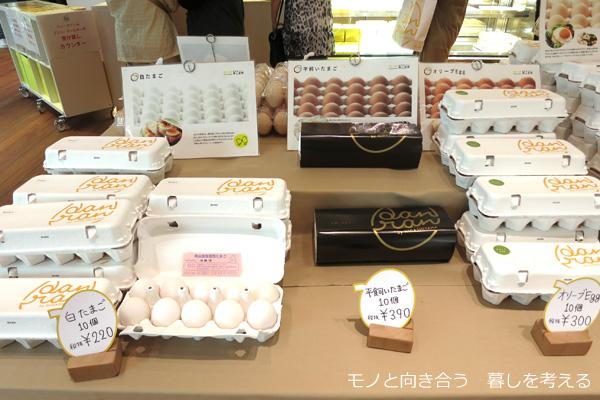 「danran」で販売している卵