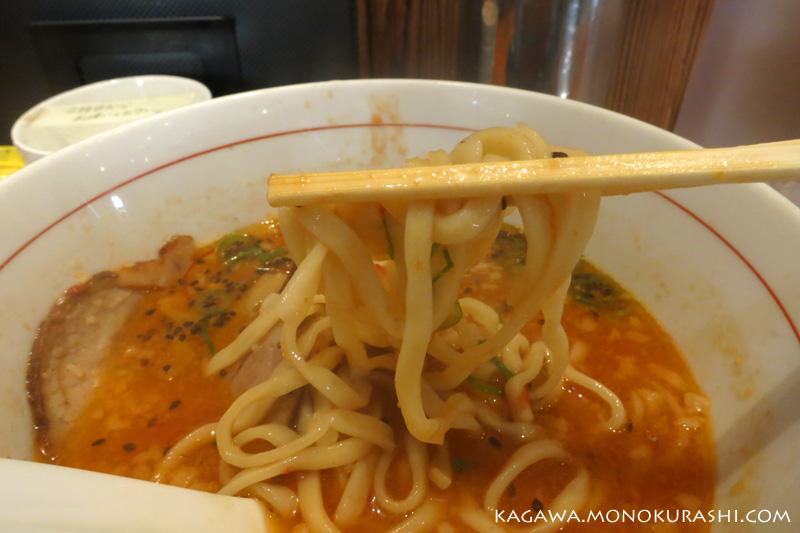 拉麺ひらりの「トマチリ」