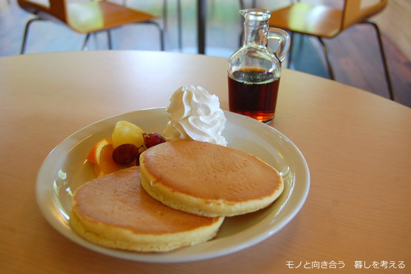 偕行社かふぇ、ホットケーキ