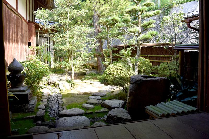 最明寺の庭