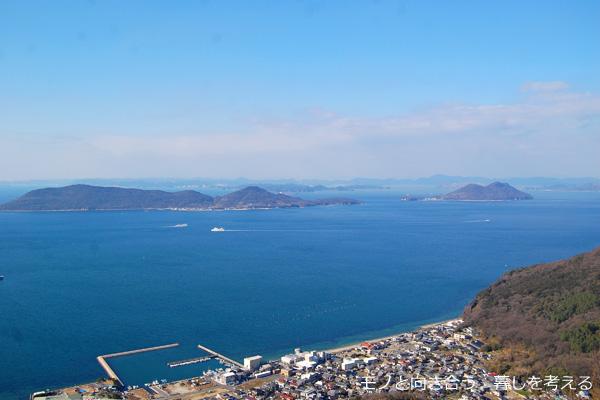 屋島山頂からの眺め